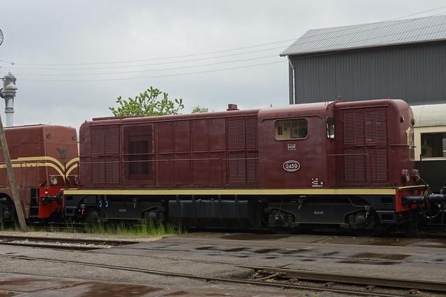 VSM 2459 in het depot van Beekbergen 23-05-2021