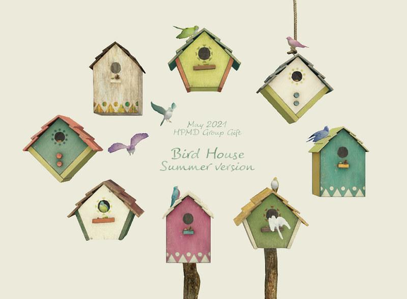 [Group Gift] HPMD Bird House -Summer version-