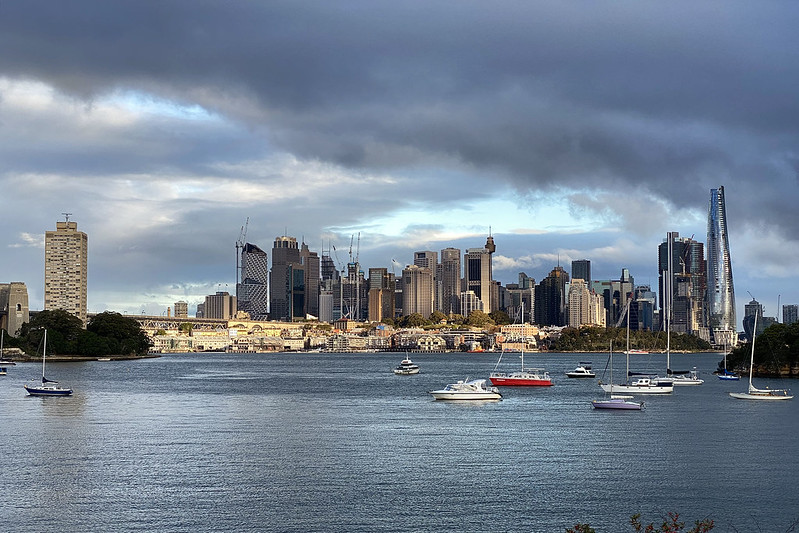 Clouds over Sydney
