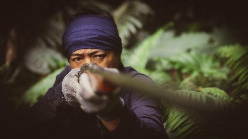 1台東卑南族獵人——潘志強(族名:Sihaw Raviravi),七年前因狩獵被判刑,而後為原住民狩獵除罪聲請釋憲。圖片來源:潘志強提供。