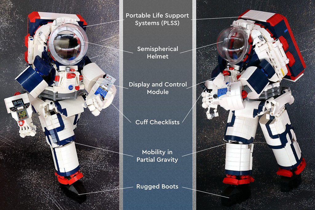 LEGO Ideas: NASA Artemis Spacesuit