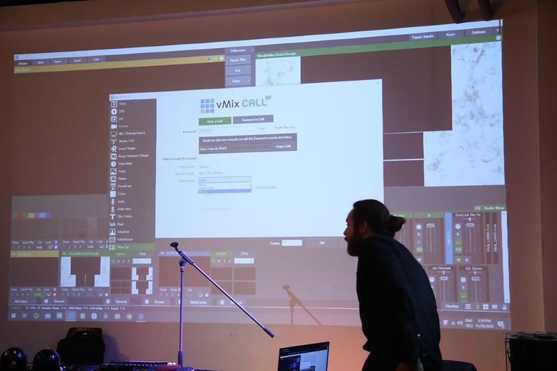 Workshop video streamovania pre umelcov a kultúrnych organizátorov (20.11.2020)
