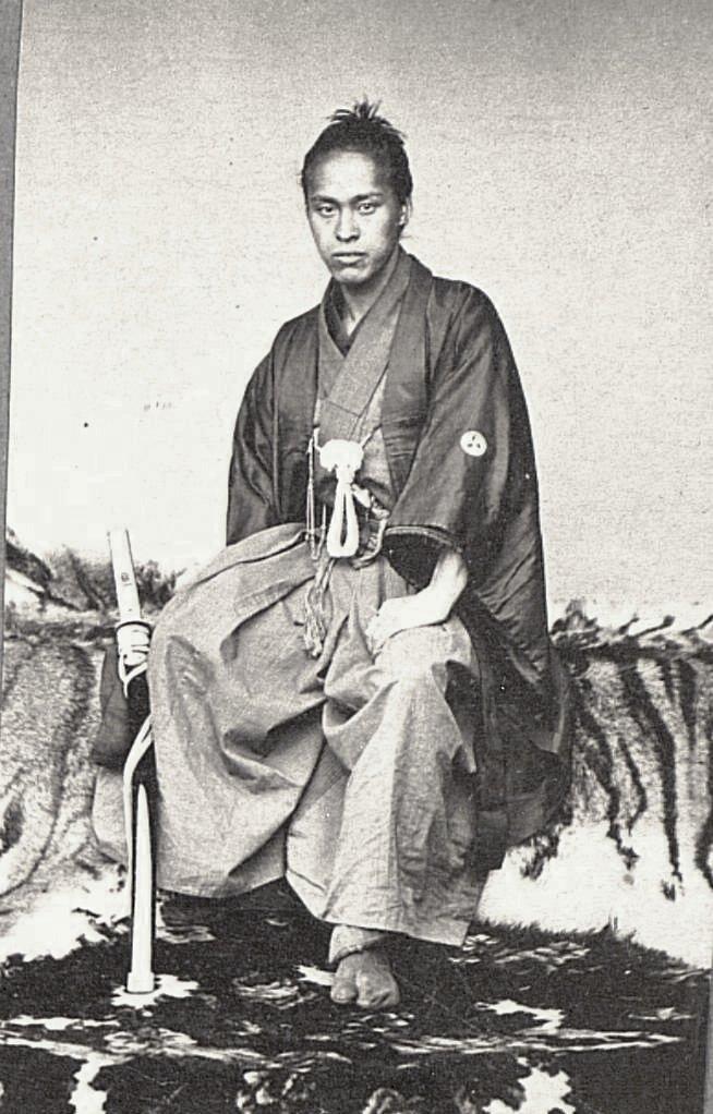 Портрет офицера на тигровой шкуре