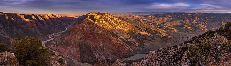 Split Mountain Panorama
