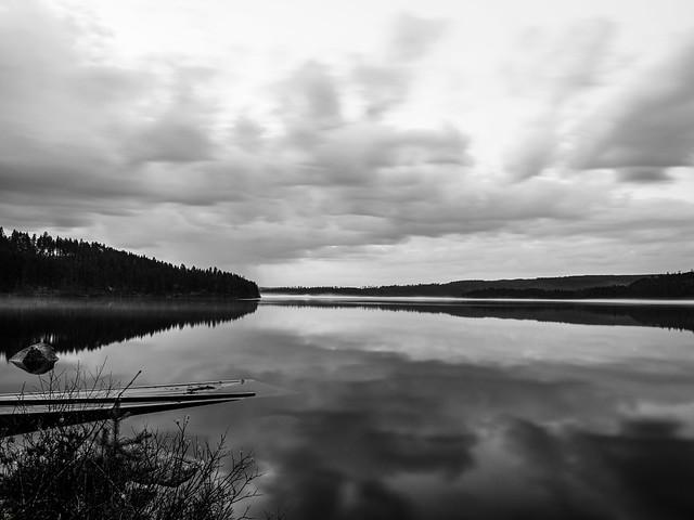 Quiet evening in Finnskogen