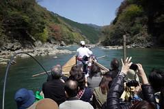 Hozugawa River Boat Ride, April 2016