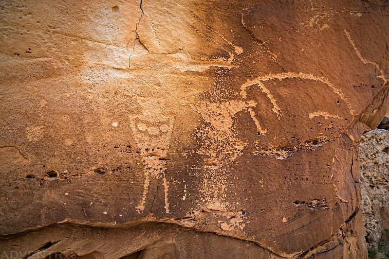 State Bridge Petroglyphs