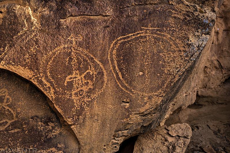 Cow Canyon Petroglyphs