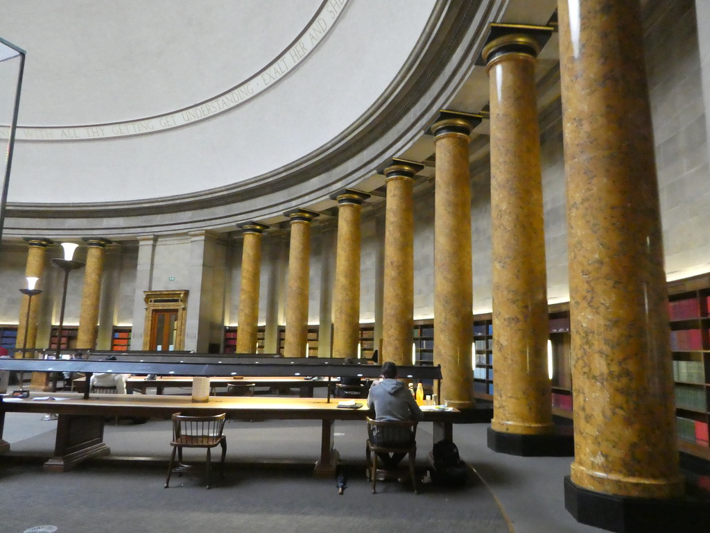 Wolfson Reading Room, Manchester Central Library