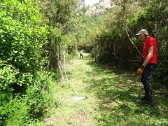 Entretien piste RG de la Sainte-Lucie : Catherine et Andy