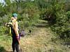 Entretien piste RG de la Sainte-Lucie : départ vers le pont de la Figa Bona
