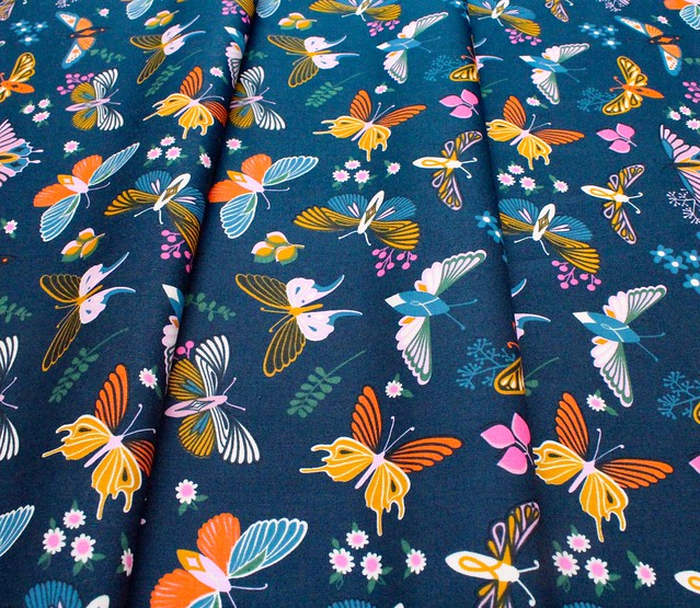 Ruby Star Society Stay Gold RS0020-14 Flutter Butterfly Peacock
