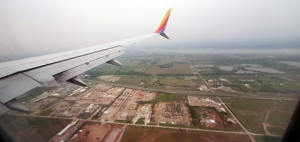 Flying into Oklahoma City via Southwest Airlines