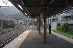 Arashiyama station, April 2016
