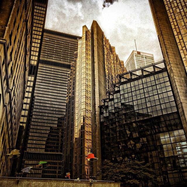 Toronto Ontario - Canada - Royal Bank Plaza - Reflections