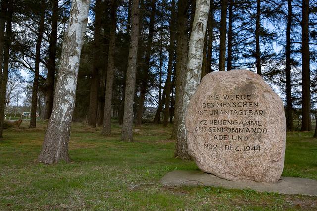 KZ Außenlager Ladelund / memorial stone