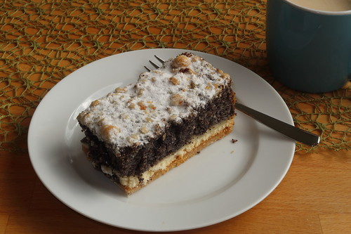 Mohnkuchen (mein Stück)