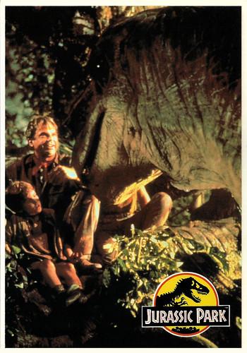 Joseph Mazzello and Sam Neill in Jurassic Park (1993)