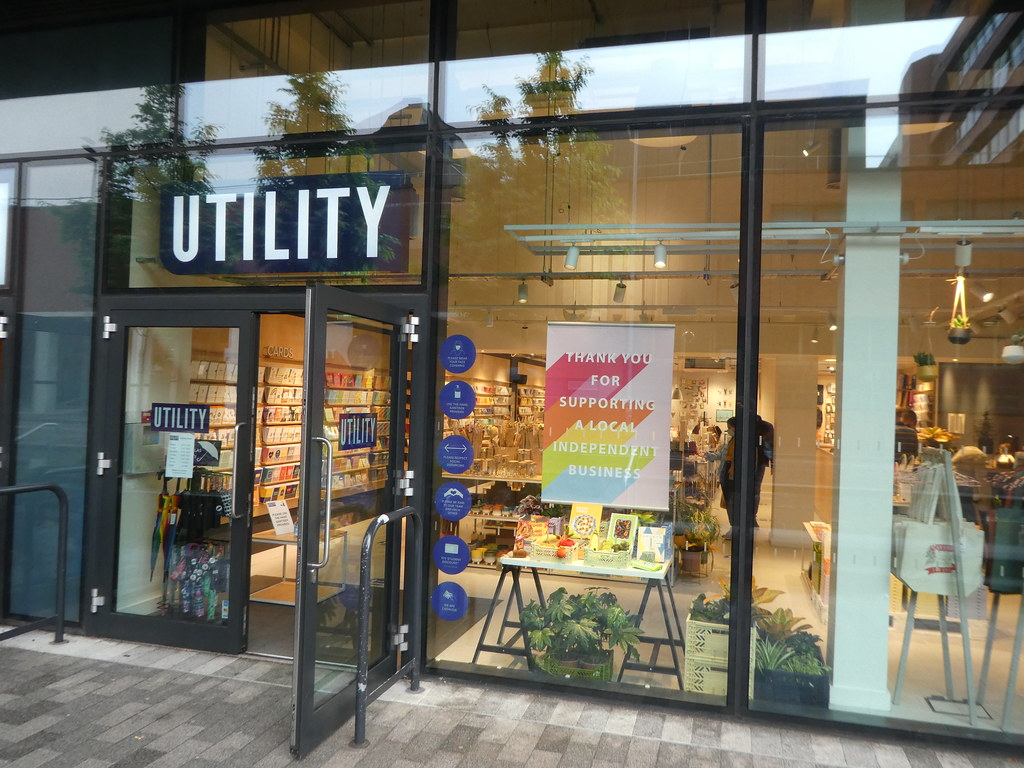 Utility Gift Shop, Manchester