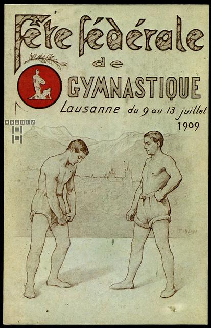 ArchivTappen233A908 Fête Fédérale de Gymnastique, Lausanne,  1909