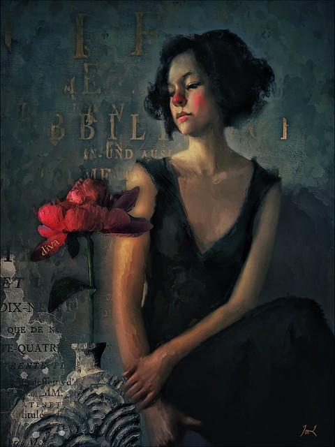 Diva and Blossom