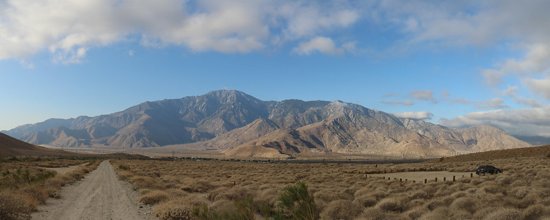 The Cottonwood Trailhead for the PCT in San Gorgonio Pass