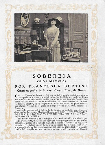 Francesca Bertini in La superbia