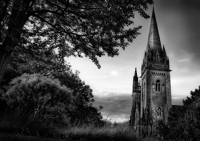 Monochrome cathedral