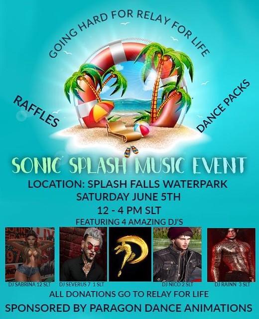 Sonic Splash Music Event