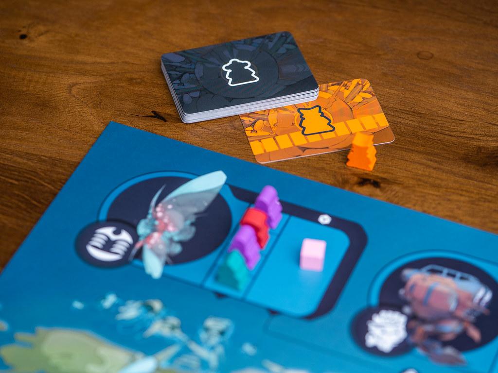Excavation Earth boardgame juego de mesa