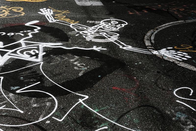 Dead cyclist