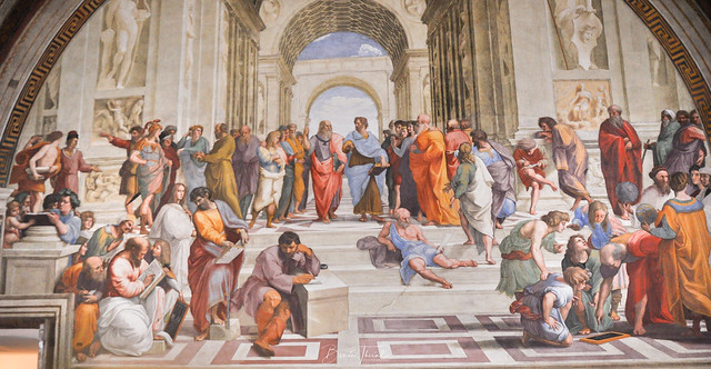 The Fresco, The School of Athens By Raphael @ The Vatican   [Flickr Explore! ⭐ - May 25, 2021]