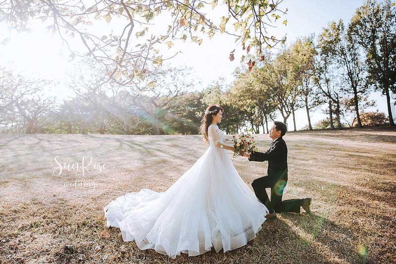 草地婚紗照