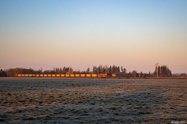 Portland and Western Rock Train at Loganville Oregon