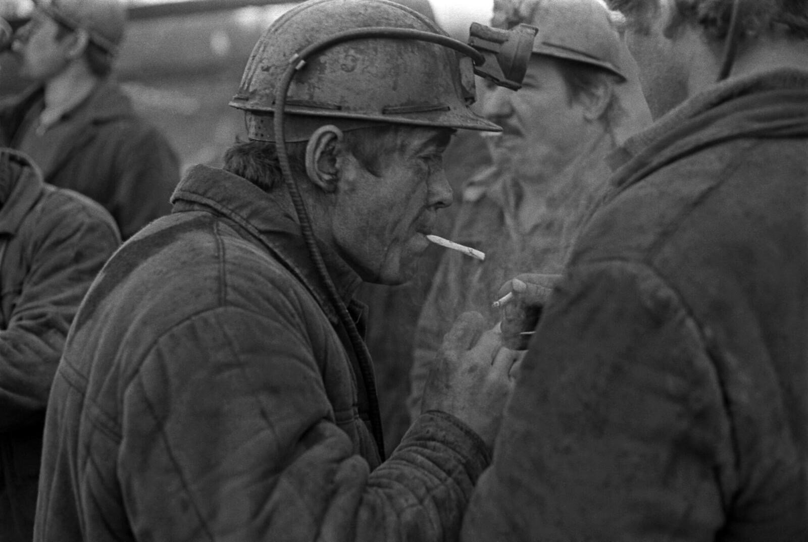 1980. «Давай закурим!». Шахтер из Чегдомыни, Бурейский угольный бассейн