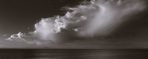 landscape chinacampstatepark sanrafael marincounty california blackandwhite infrared lateafternoon clouds sanpablobay sanfranciscobay horizon water sky reflection