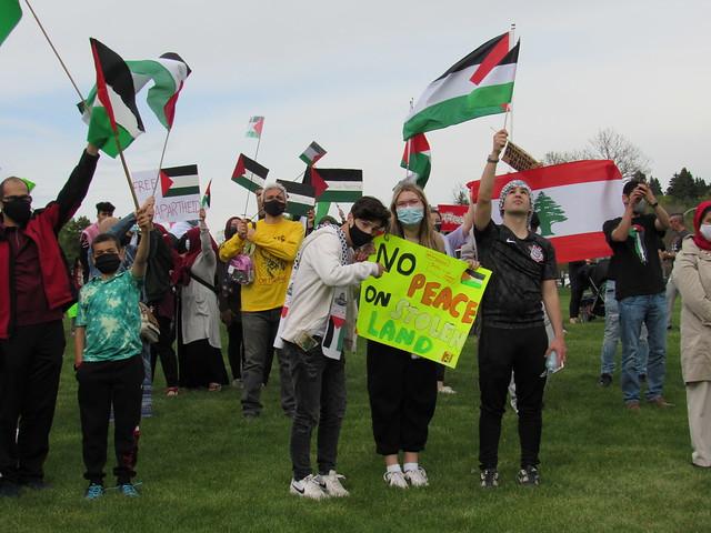 Human Chain for Palestine