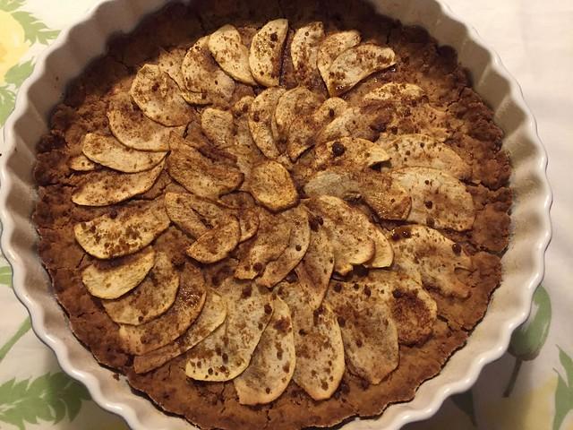 Vegan and  gluten free Apple pie