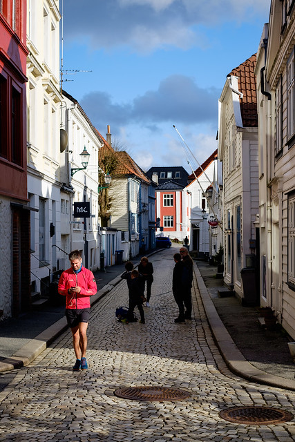 In the streets of Bergen