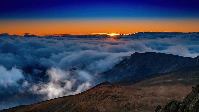 Sunrise on Haleakala (In Explorer May 2021)