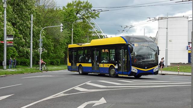 2021-05-17 Teplice Trolleybus Nr.181