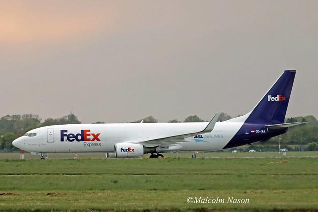 B737-8AS(BCF) OE-IXA ASL AIRLINES BELGIUM\FEDEX
