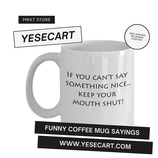 Funny Coffee Mug Sayings