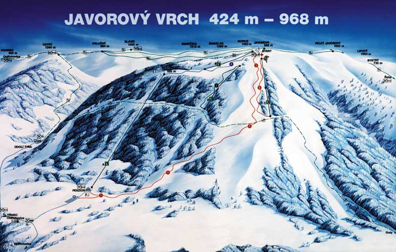 Javorový Moravskoslezské Beskydy Tschechien foto 09