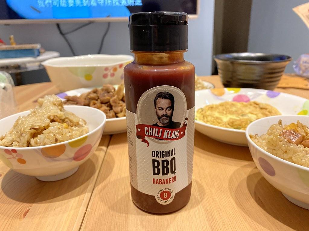2021好吃沾醬推薦!丹麥辣番茄醬 8號中辣(BBQ風味),就愛吃這味~肉粽、點心雞塊沾醬 @秤秤樂遊遊