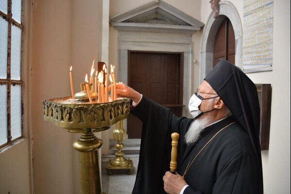 Εορτασμός των Αγίων Ισαποστόλων Κωνσταντίνου και Ελένης (21 Μαϊ, 2021)