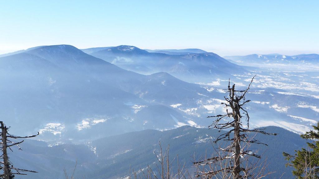 Lysá hora Moravskoslezské Beskydy Česko foto 18
