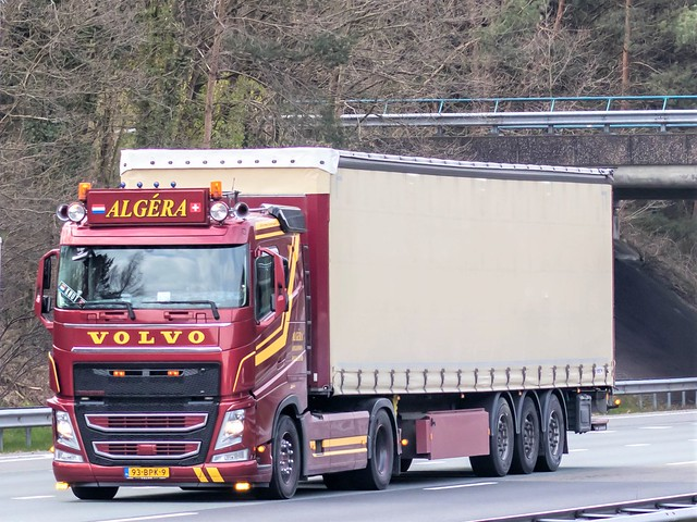 Volvo FH4, from Algéra, Holland.