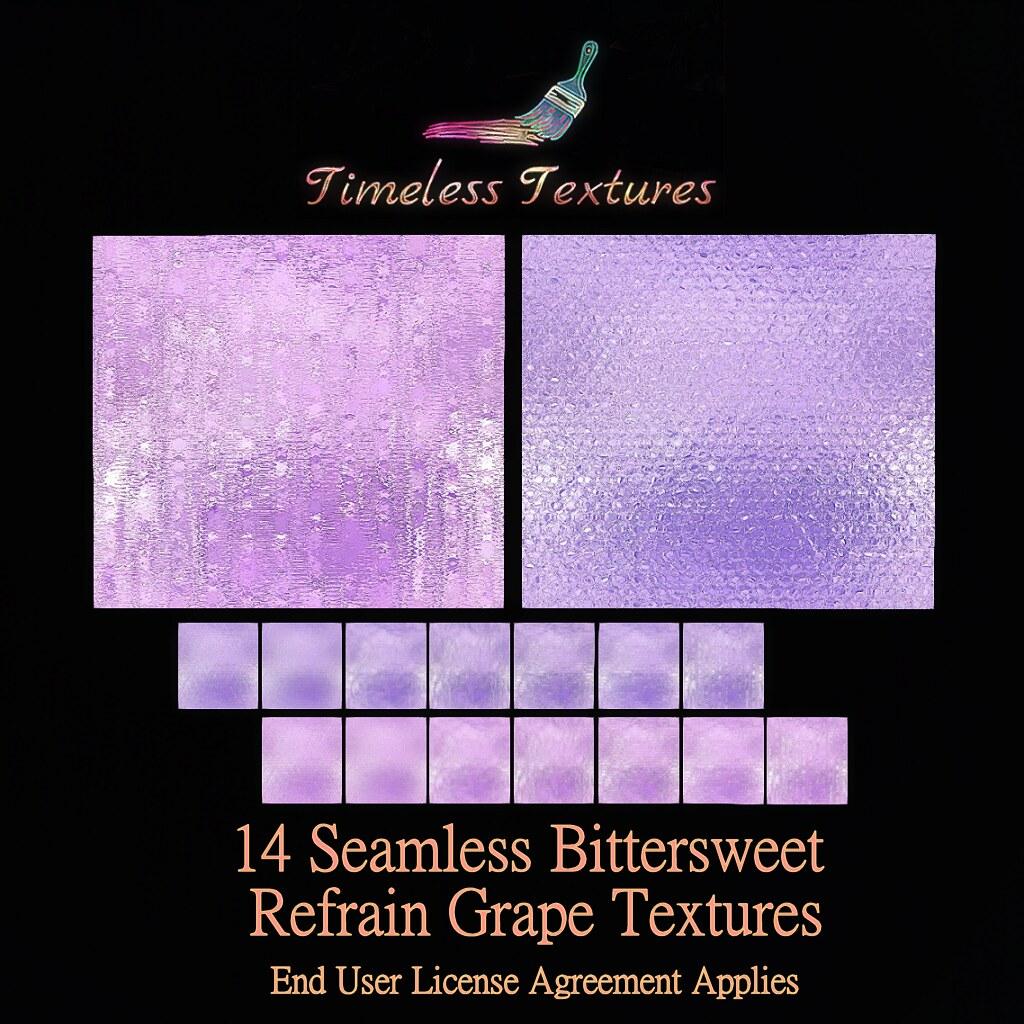 TT 14 Seamless Bittersweet Refrain Grape Timeless Textures