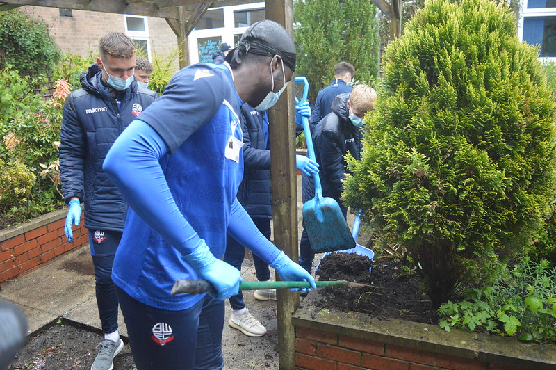 Bolton Wanderers first-year apprentices at Sharples School (11)